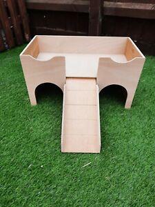 (Updated design of my original)Guinea Pig Castle. Shelter/house hide.