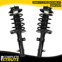06-11 Ford Focus Front Quick Complete Struts & Coil Springs w/ Mounts Pair x2