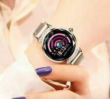 UK Women Lady Bluetooth Smart Watch Heart Rate Sleep Monitor Wristband Female