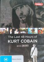 The Last 48 Hours Of Kurt Cobain DVD EXTREMELY RARE