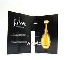 Jadore EDP Sample Vial 1ml Perfume Free Post Trial Size Christian Dior Authentic