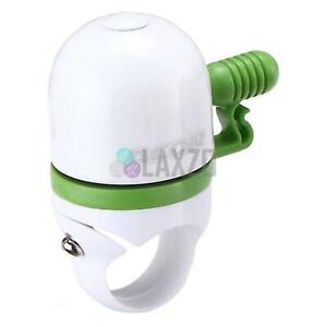 Mini Bell With Standard Clamp Acor Capsule Bicycle Cycling White/Green