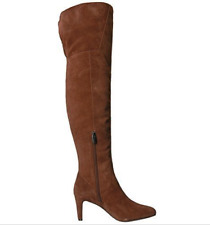 NIB Vince Camuto Women's Armaceli Over The Knee Boot Chocolate Truffle Size 7M