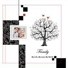 Family Photo Album in Black   Family Keepsake   Gift Boxed