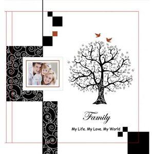 Family Photo Album in Black | Family Keepsake | Gift Boxed