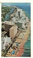 Postcard Hotel Row Miami Beach Florida