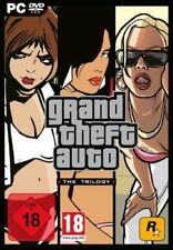 PC Spiel*Grand Theft Auto the Trilogy GTA San Andreas + Vice City + GTA 3