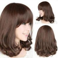 Cn _ Beauté pour Femmes Mode Résistante à la Chaleur Long Cheveux Bouclés