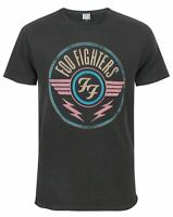 Amplified Foo Fighters FF Air Logo Men's Adults Charcoal Grey T-Shirt