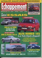 ECHAPPEMENT n°356 04/1997 BMW Z3 AUDI A3 1.8T GOLF GTI 16V 406 coupé WRC SAFARI