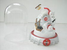 COCA COLA® GLOBE LES OURS SUR UN IGLOO 1995 NEUF + BOITE LIMITED EDITION N° FM