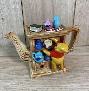 Disney Showcase Ltd Edition Cardew Winnie The Pooh Hutch Teapot - MISSING Piglet