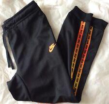 Men's Nike Taped Pants BQ7553-010 Small Black