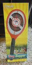 NIB-FineLife Battery Operated Red Bug Fly Mosquito Zapper Swatter 3 Layer Net