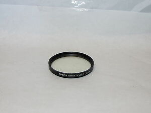 Used Tiffen Haze-1 55mm Lens Filter Made in USA O32445