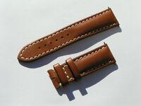 22mm Breitling Band 433XS 22/20 Kalb braun brown Strap für Dornschliesse I075