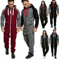 US STOCK Women Men/'s Tracksuit Onesi1 All in One Piece Jumpsuit Playsuit Romper