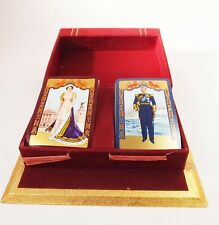 Vintage Coronation 1953 playing cards De la Rue Queen Elizabeth commemorative