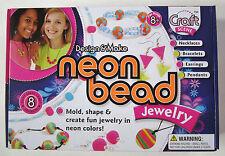 International Playthings Craft Scene Neon Bead Jewelry Kit