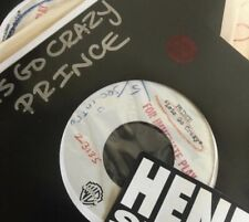 """Prince - Lets Go Crazy 7"""" Acetate - Rare - possibly the only 1  in existence"""