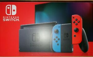 Nintendo Switch 32GB Console System w/ Neon Blue & Red Joy-Con |USED, OPEN BOX