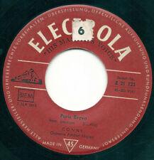 """Conny Froboess Paris Bravo 7"""" Single Vinyl Schallplatte 48735"""