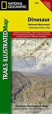 Dinosaur National Monument, Utah & Colorado, National Geographic Maps #220