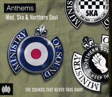 ANTHEMS: MOD, SKA & NORTHERN SOUL – MINISTRY OF SOUND V/A 3CDs (NEW/SEALED)