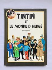 Tintin et  Le monde d'Herge / EO 1988  / BENOIT PEETERS / BD / CASTERMAN