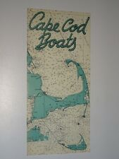 1940's Vintage Cape Cod Boats Sales brochure booklet