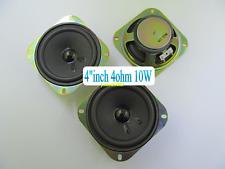 "1pcs 4""inch full-range speakers 4ohm 10W 100mm*100mm"