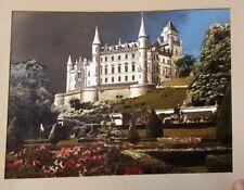 Vintage Foil Castle Picture