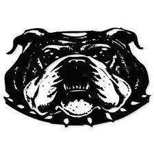 "BULLDOG bull dog car bumper sticker decal 5"" x 4"""