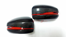 UNIQUE REAL GLOSS CARBON FIBER SIDE MIRROR SHELL SET FOR 14-17 HONDA FIT JAZZ GK