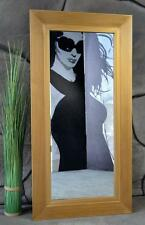 Rechteckige moderne Deko-Spiegel aus Holz