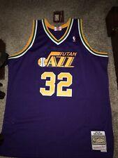 Utah Jazz Mitchell & Ness Karl Malone Swingman Jersey XXL NWT $130