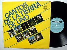 Cantos De La TIERRA DE UNO LP Uruguay Near-MINT
