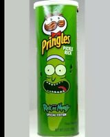 Rick And Morty Pickle Rick PRINGLES Special Edition Chips Sold Out New Sealed...