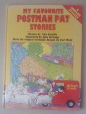 Favourite Postman Pat Stories 1991 Hardback book Postman Pat book Cunliffe, John