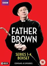 Father Brown Complete Series 1, 2, 3 & 4 DVD Box Set R4 New & Sealed