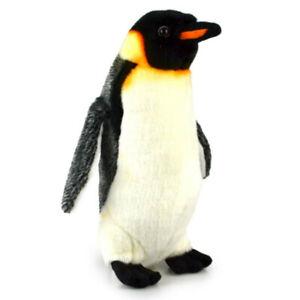 Korimco 29cm Penguin King Plush Soft Animal Stuffed Toy Kids/Children 3y+ Black