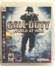 Call of Duty: World at War (Sony PlayStation 3, 2008) - Complete
