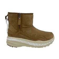 UGG CA805 CLASSIC WEATHER CHESTNUT SUEDE SHEEPSKIN MEN'S ZIP BOOTS US SIZE 9