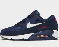 ⚫ Genuine Nike Air Max 90 Essential ® ( Men Size UK 6 EUR 39.5 ) Midnight Navy