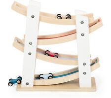 Rennbahn aus Holz Feinmotorik Konzentration Kinder Spielzeug Kleinkind