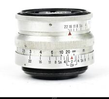 Lens Zeiss Biotar 2/5.8cm Red T   for Contax S Pentax  M42