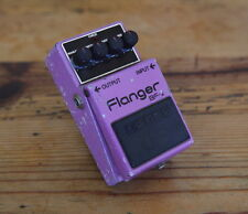 Boss BF-2 Flanger Effect Pedal -->Rare Silver Screw version - MIJ<--