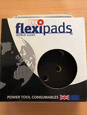 Flexipad 17060 da Super Pad 125mm Velcro 8 orificios de 5/16 UNF de densidad media