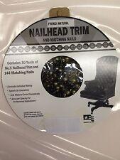 30 Feet Upholstery French Natural Tackstrip Roll Nail Strip Nailhead Trim