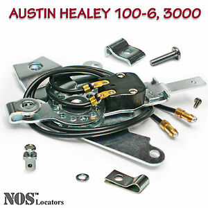 Austin Healey 6-Cyl BN4-BJ8 Heater Control and Blower Fan Switch Assy - SALE